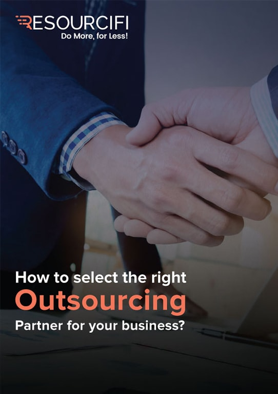 eBook - Select the right outsourcing partner - Resourcifi
