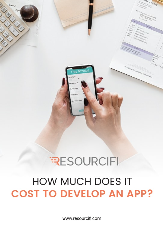 eBook - How much does it cost to develop an app - Resourcifi