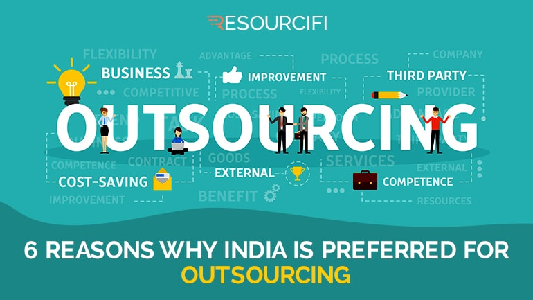 why is india preferred for outsourcing trends in 2018